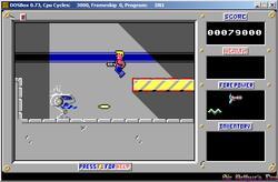 DOSBox 0.73 - Duke Nukem 1