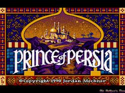 DOSBox 0.73 - Prince of Persia screenshot 1