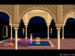 DOSBox 0.73 - Prince of Persia screenshot 2
